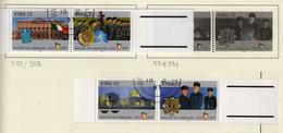 Irlande O N° Yv 988, 989, 990, 991; Mi 985, 986, 987, 988; SG 1106a, 1108a. - Used Stamps