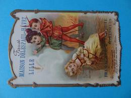 Chromo Gauffré Paind'épices Delespaul Havez Lille Faust - Altri
