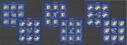 RM278 2011 ROMANIA SPACE ZODIAC I ASTROLOGY #6524-29 MICHEL 116 EURO MNH - Astrologie
