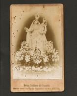 Fotografia Antiga  NOSSA SENHORA Do ROZARIO Que Se Venera Na Egreja Conventual Do BOM SUCESSO Belem / Lisboa / PORTUGAL - Old (before 1900)