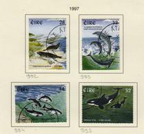 Irlande O N° Yv 992, 993, 994, 995; Mi 989, 990, 991, 992; SG 1118, 119, 1120, 1121; Dauphin, Orca... - Used Stamps