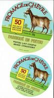 2 ét. Diff. FROMAGE De CHEVRE Du Poitou (Chauvigny) 50% - Cheese