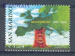 San Marino 2002 Mi 2022 MNH  (ZE2 SMR2022) - European Community