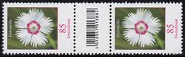 3116 Blume 85 Cent Aus 500er-Rolle, Paar Mit Nr., Codierfeld -884, Ohne Nr., ** - Roulettes