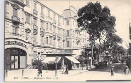 CPA EGYPTE LE CAIRE CAIRO SHEPHEARDS HOTEL 124 LL DOS DIVISE NON ECRIT - El Cairo