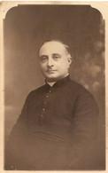 Cpa D'Etaples, Carte-photo De L'abbé Louis Fourdiniez Par Caron-Caloin, Souvenir à Un Camarade De Guerre, Fromessent - Etaples