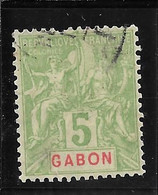 GABON N°19 OB TB SANS DEFAUTS - Used Stamps