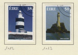 Irlande O N° Yv 1012, 1013; Mi 1010A, 1011A; SG 1138, 1139; Phare. - Used Stamps