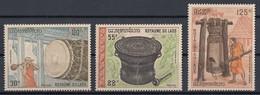 Laos 1970 Mi 273 – 275 MNH - Laos