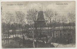 AK  Potsdam Sanssouci Historische Mühle 1915 - Potsdam