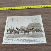 1931 PATI1 Chevaux De La Procession D Elingen Près Du Château De Gaesbeek - Ohne Zuordnung