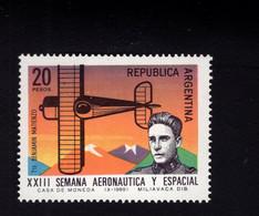 1305570839 1969 SCOTT 913 POSTFRIS (XX) MINT NEVER HINGED EINWANDFREI   - LT BENAMIN MATIENZO AND NIEUPORT PLANE - Used Stamps