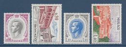 ⭐ Monaco - YT N° 847 à 850 - Neuf Sans Charnière - 1971 ⭐ - Unused Stamps
