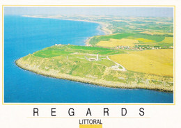62 Pays D'Opale Site Des Deux Caps Le Cap Gris Nez Et Nez Wissant (Carte Vierge) - Unclassified