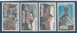 ⭐ Monaco - YT N° 851 à 854 - Neuf Sans Charnière - 1971 ⭐ - Unused Stamps