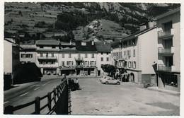 CPSM - ORSIERES (Valais) - La Place Centrale - VS Wallis