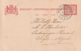 Indes Neerlandaises Entier Postal 1909 - Indes Néerlandaises