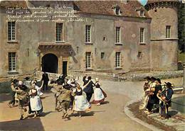Folklore - Danses - Morvan - Groupe Folklorique Les Galvachers Du Morvan - Vielle - Voir Scans Recto Verso - Dances