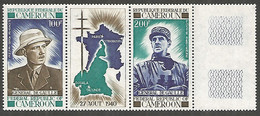 Cameroon 1970 Year General De Gaulle Mint Stamps MNH (**) - Cameroon (1960-...)