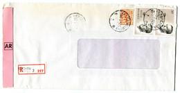 1984 R-enveloppen Van Berchem 3 Met 2 X 50 Fr Boudewijn Zegel + 2fr Leeuw - Lettres & Documents