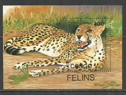 Congo 1992 Used Block Leopard - Used