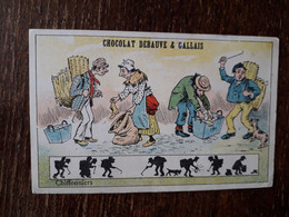L37/134 CHROMO CHOCOLAT DEBAUVE ET GALLAIS . CHIFFONNIERS - Altri