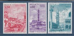 ⭐ Monaco - YT N° 887 à 889 - Neuf Sans Charnière - 1972 ⭐ - Unused Stamps