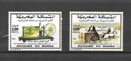 TIMBRES NEUFS DU MAROC DE 1990 N°MICHEL 1181/82 - Marocco (1956-...)