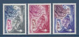 ⭐ Monaco - YT N° 900 à 902 - Neuf Sans Charnière - 1972 ⭐ - Unused Stamps