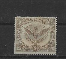 TIMBRE BELGIQUE  CHEMIN DE FER   TR 61X - 1915-1921