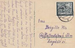 Allemagne Carte Singen 1944 - Lettres & Documents