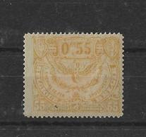 TIMBRE BELGIQUE  CHEMIN DE FER   TR 108X - 1915-1921