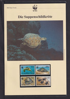 "1995  St. Kitts   WWF  ""Die Suppenschildkröte""  Komplettes Kapitel - Lots & Serien"