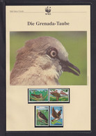 "1995  Grenada  WWF  ""Die Grenada-Taube""  Komplettes Kapitel - Lots & Serien"