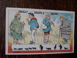 L37/138 CHROMO CHOCOLAT DEBAUVE ET GALLAIS . BERGERS - Altri