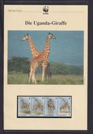 "1997  Uganda  WWF  ""Die Uganda Giraffe "" Komplettes Kapitel - Lots & Serien"