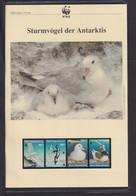 "1997  Roos Gebiete WWF  ""Sturmvögel Der Antaktis"" Komplettes Kapitel - Lots & Serien"