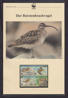 "1997  Marschall Inseln WWF  ""Der Bortenbrachvogel"" Komplettes Kapitel - Lots & Serien"