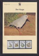 "1998  Neukaledonien  WWF  ""Der Kagu"" Komplettes Kapitel - Lots & Serien"