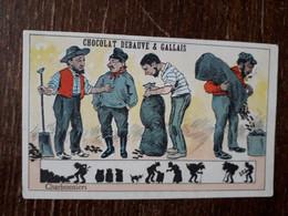 L37/141 CHROMO CHOCOLAT DEBAUVE ET GALLAIS . CHARBONNIERS - Altri