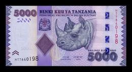 Tanzania 5000 Shillings 2020 (2021) Pick 43 New SC UNC - Tansania