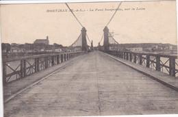 49 MONTJEAN Pont Suspendu Sur La Loire 1916 - Andere Gemeenten