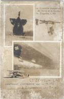 52  Bourbonne Les Bains  -  Le Zeppelin  L49 Contraint D'atterrir  Par La N 152  A Bourbonne Les Bains Le 20 Octobre 191 - Bourbonne Les Bains