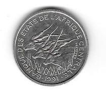 Etats De L'Afrique Centrale. 50 Francs 1991 Lettre A (Tchad) - (509) - Chad