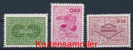 TAIWAN Mi. Nr. 467-469 15 Jahre Chinesische Nationale UNESCO-Kommission- Ungebraucht - Neufs