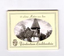 12 Stk Fotos, Motive Aus Dem Fürstentum Liechtenstein - Liechtenstein