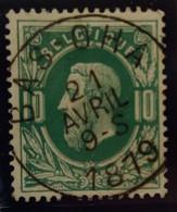Belgique Oblitération Bas-oha  Sur COB N°30 - 1869-1883 Leopold II.