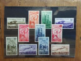 COLONIE ITALIANE 1940 - AFRICA ORIENTALE ITALIANA - Triennale D'oltremare P.O. + P.A. Nuovi * + Spese Postali - Italian Eastern Africa
