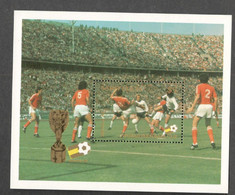 ST:LUCIA....1982: SOCCER CHAMPIONSHIP Michel Bl.33mnh** - St.Lucie (1979-...)
