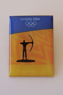2004 Athens Olympic Games - Archery Pictogram Pin - Jeux Olympiques